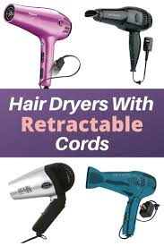 retractable cord blow dryers